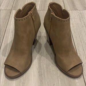 Esprit peep toe boots